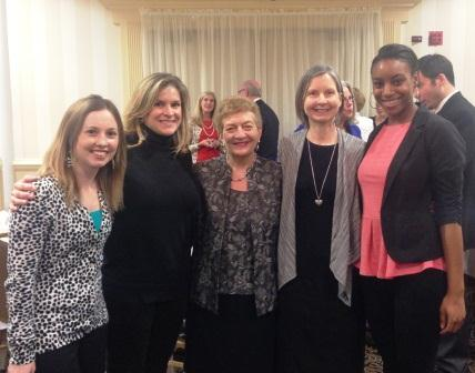 (L-R) Susan, Leslie, Dr. Dann-Messier, Claudia, and Carrie at 2013 VLLC Conference